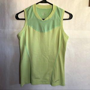 Patagonia green sleeveless tank top XS